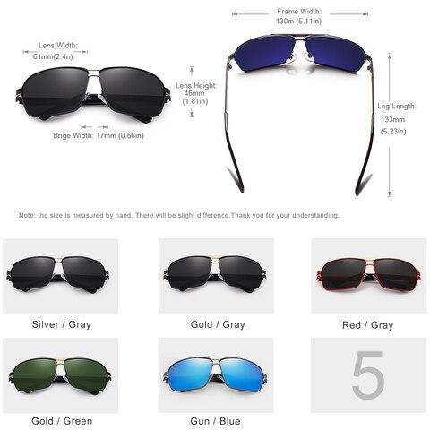 KINGSEVEN DESIGN Men Classic Sunglasses Aviation Frame Polarized Sunglasses For Men Driving UV400 Protection N7855 Islamabad
