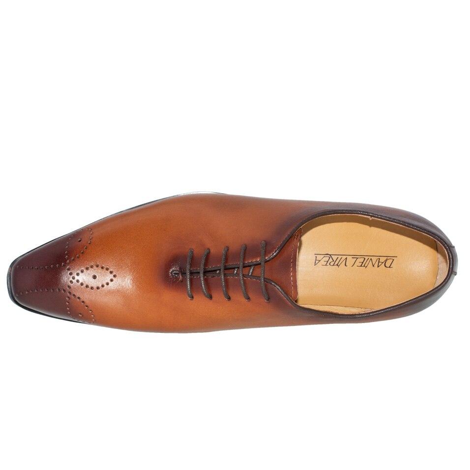 Homens Oxford Couro Do Alta Preto Designer Apontado Sapato Qualidade Black Sapatos Vestem Casamento Formal Brogue Vestido Homem Se Luxo yellow De Semi Amarelo Dedo rn7TrOR