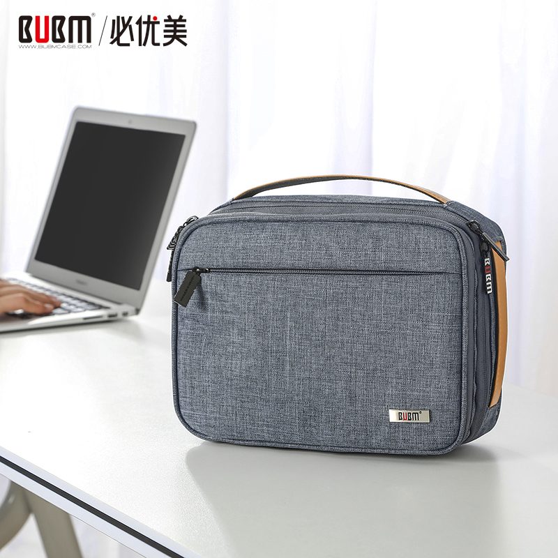 BUBM Bag For Digital Accessories Travel Organizer Bag For USB Cable Phone Data Wire Power Bank Storage Case Waterproof