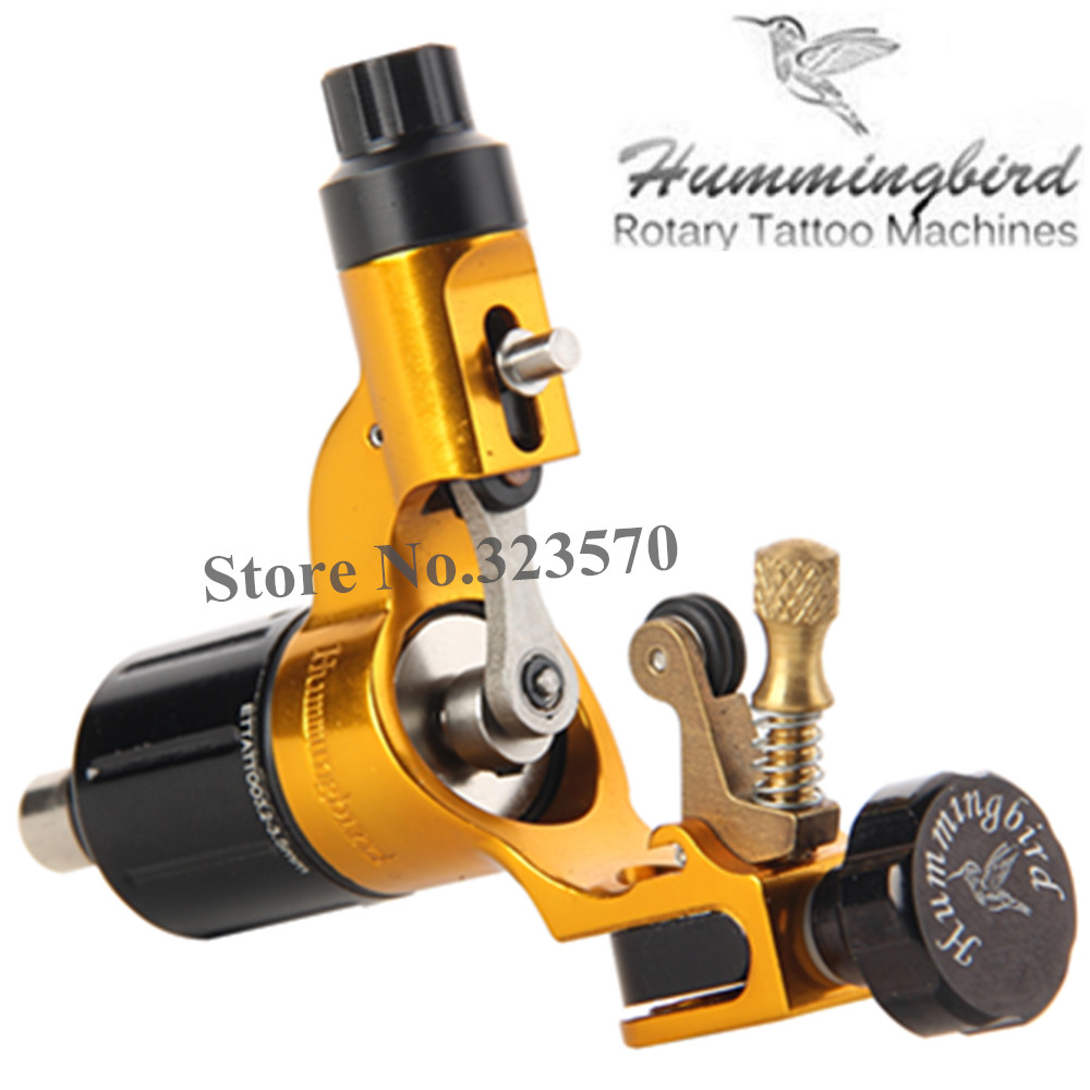 Original Hummingbird Gold Gen 2 Rotary Tattoo Machine Swiss Motor Free RCA Cord рюкзак hummingbird nk5