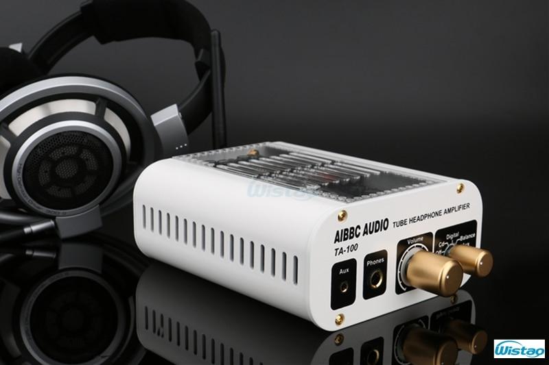 Tube Headphone Amplifier DAC Preamplifier 12AT7-TII Bluetooth 4.0 CSR8670 XMOS ES9018 Decoder DSD Luxury Version White 110/220V appj pa1502a tube headphone amplifier