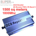 DCS repetidor + 4G LTE FDD banda 3 ganho 60dbi reforço 1800 Mhz impulsionador repetidor 4G LTE FDD impulsionador DCS sinal de reforço 4G reapter
