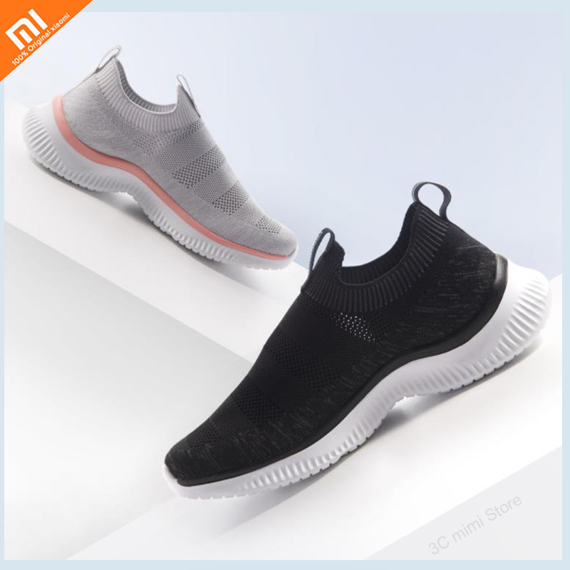 Original xiaomi lightweight and comfortable sports shoes men s non slip breathable mesh unique design easy