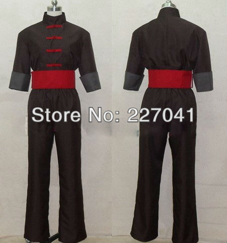Gintama Abuto COSPLAY COSTUME Halloween Cloth Free Shipping