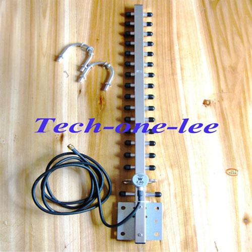 2,4 Ghz WiFi Antenne 25dbi RP sma-stecker WLAN 2,4g yagi-antenne 145 cm kabel für Signal Repeater verstärker