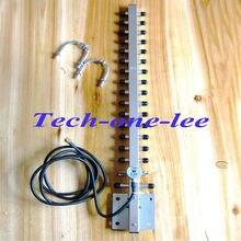 Alta calidad 2.4 Ghz 25dbi WiFi Antena con Conector macho RP SMA WLAN 2.4g Yagi antena 145 cm cable envío gratis