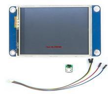 "2.4 ""Nextion HMI אינטליגנטי חכם USART UART סידורי מגע TFT LCD פנל תצוגת מודול לפטל Pi 2 א + B + ארד ערכות"