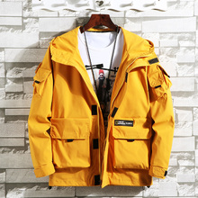 Paragraph Lang Legendary brand new men jacket hooded,mens double-collared jacket, printed windproof cuffs big pocket
