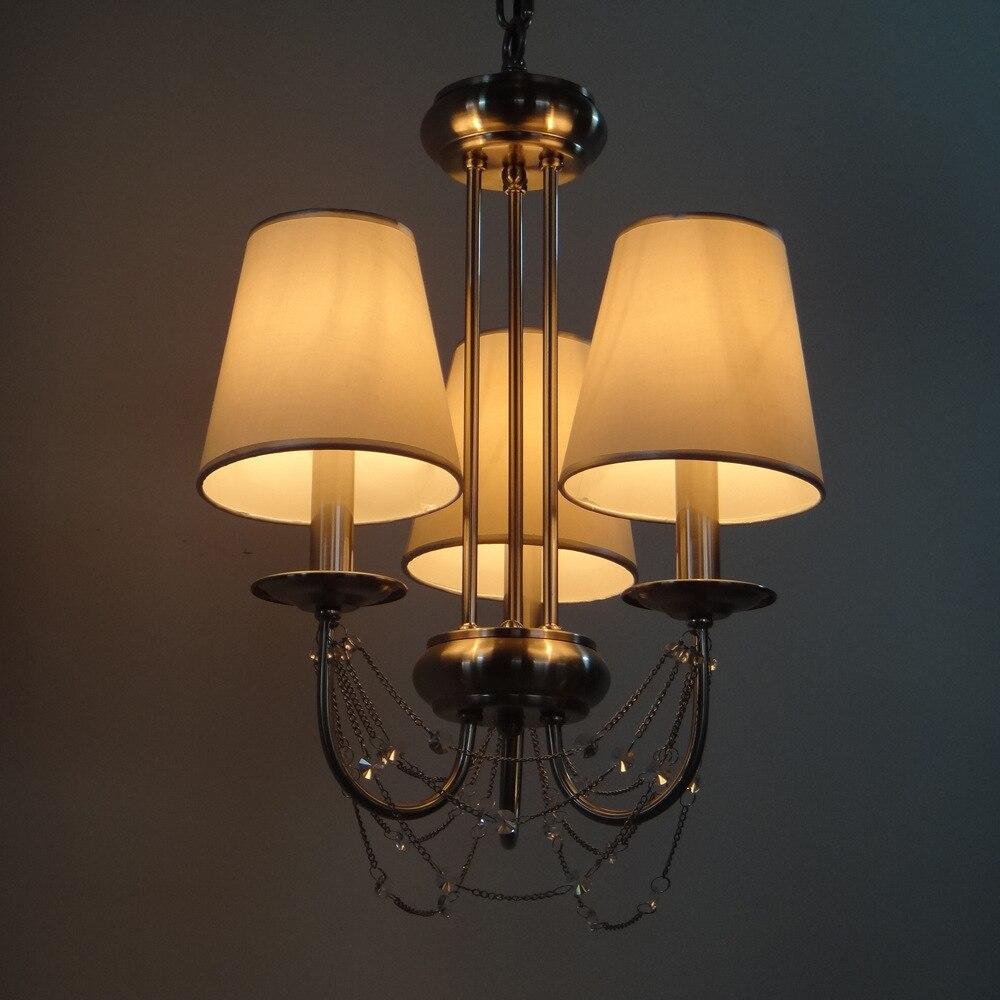 Modern Crystal Chandeliers Home Lighting Decoration Luxury Candle Chandelier Pendants Living Room Indoor Lamp E14 Led