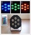 7x9W Wireless remote control Fast Shipping American DJ Mega Tri Par Profile Bright Stage  LED DJ Wash Light Stage