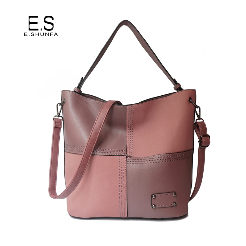 Fashion Plaid Shoulder Bag Woman 2018 New Arrival PU Leather Bag High Quality Zipper Casual Single Shoulder Bags For Women multifunctional pu leather zipper decor shoulder bag