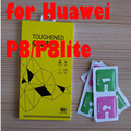 free shipping 0.26mm 9H 2.5D Tempered Glass Screen Protector  Explosion Proof Toughen Glass on the for huawei p8 /p8lite glass