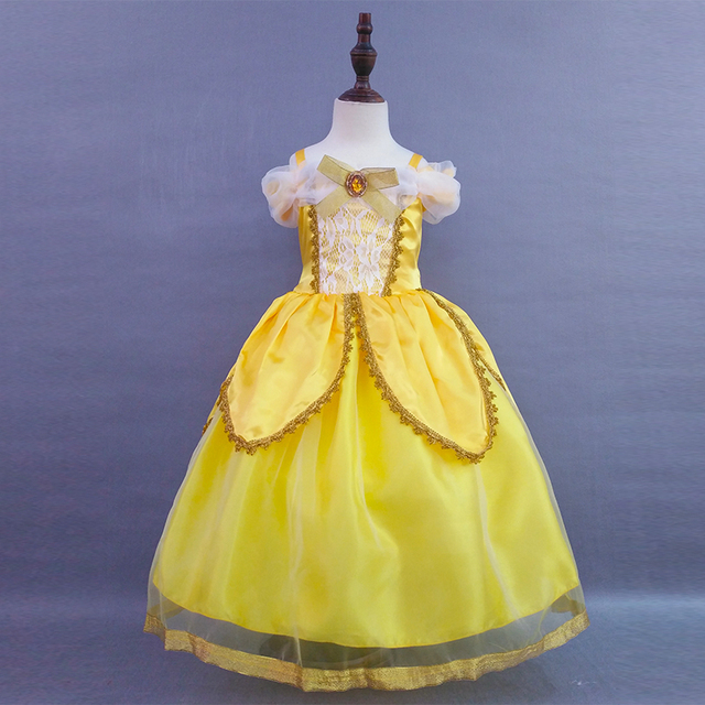 c008564143 Retail Children Girl Luxury Party Dresses Girls Princess Ball Gown Cosplay Fancy  Dress Girl Christmas Wedding Dress SMR008