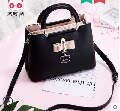 Princess sweet lolita JUSTSTAR bag Korean Sweet Princess wind bow Shoulder Bag Handbag all-match fashion handbag women 171732