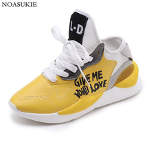 Fashion Shoes Women Chunky Sneakers Lightweight PU White Casual Platform Sports Leather Basket Femme