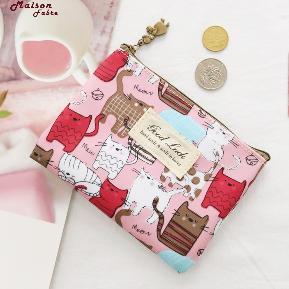Maison Fabre Coin Purse Women Girls Cute Fashion Snacks Coin Purse Wallet Bag Change Pouch Key Holder Coin Purse Small 40 L5