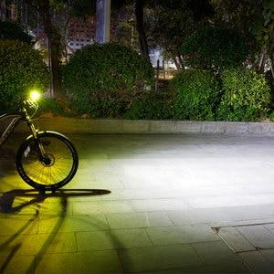 Image 5 - Gaciron bicicleta farol luz traseira pacote de carga usb bateria interna led frente cauda lâmpada ciclismo iluminação aviso visual