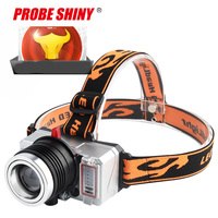 Headlamp Head Lights Fishing Tail Lights Forehead Head Headlights Torch Hunting Head Fishing Mining Lights Lamp