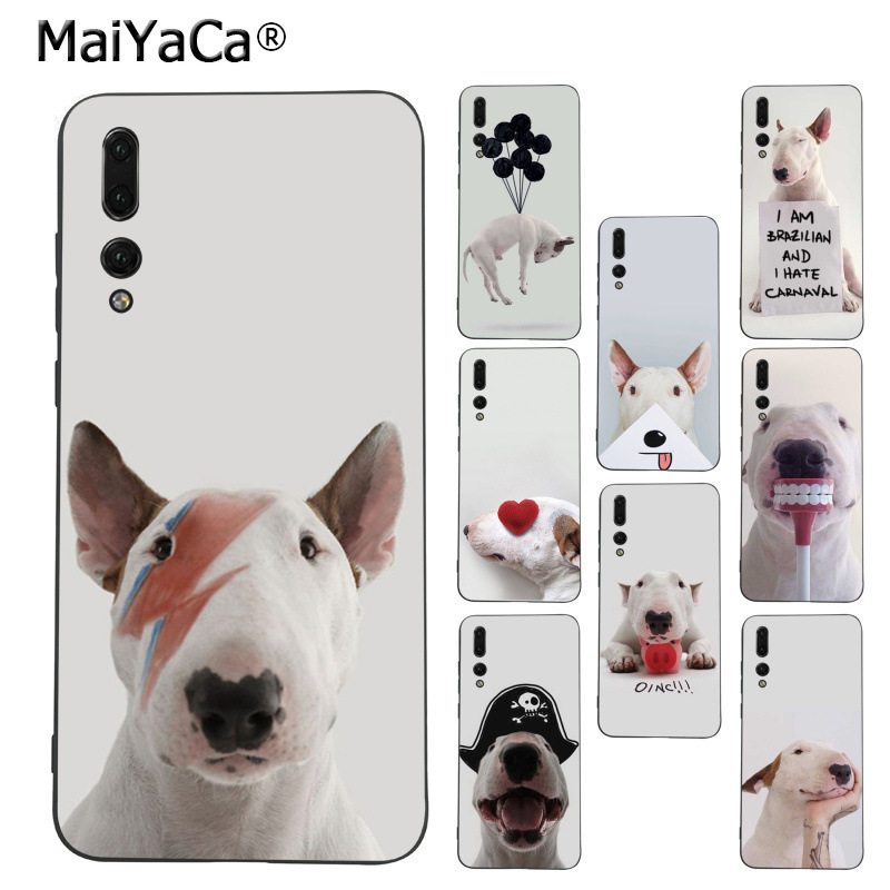 Phone Bags & Cases Cooperative Maiyaca Jimmy Choo Bull Terrier Dog Lovely Novelty For Iphone 8 7 6 6s Plus 5 5s Se Xr X Xs Max Coque Shell