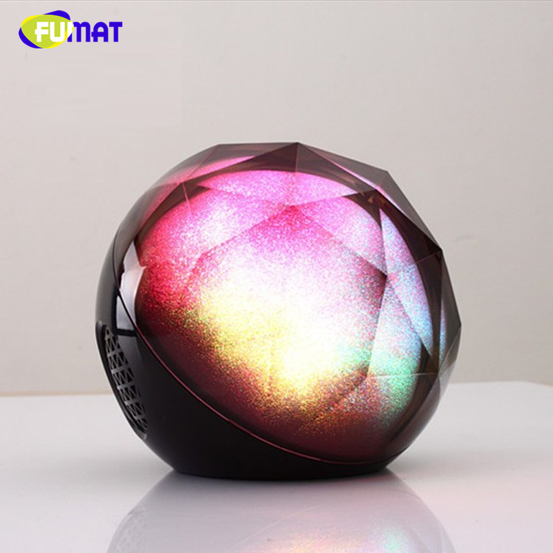FUMAT Projector Night Lights Magic Night Lamps Bluetooth Bass Speaker LED Music Lights with Remote Control Kids Xmas Night Lamps bs 1025 magic mirror hifi led bass speaker black