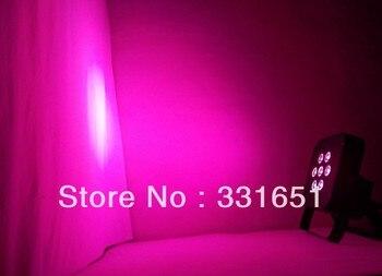 4 Pcs/carton Frete Grátis 7x15 W RGBAW 5IN1 Plano De Slim LED Par Luz/7x15-watt Rgbaw All-in-one Leds Par Plana Luz De Energia