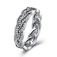 2017 New Sterling Silver Jewelry Vintage Ring Silver 925 Jewelry 100 Real Solid 925 Silver Rings