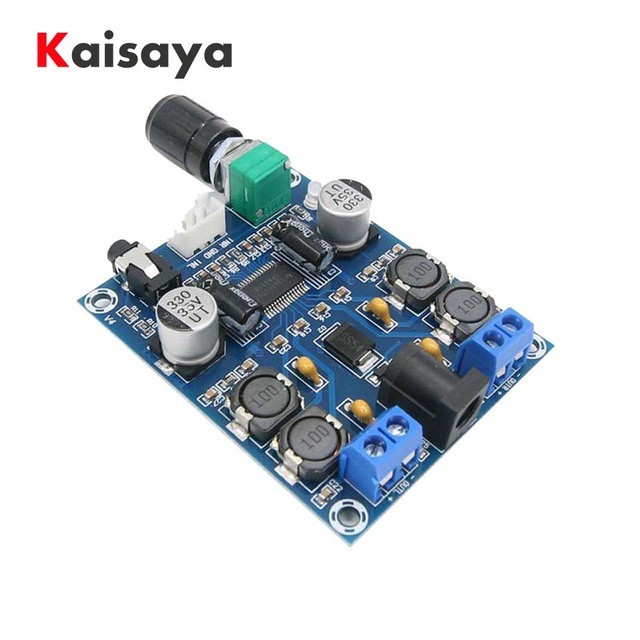 XH-M312 TPA3118D2 DC 12 V-24 V-28 V, salida 45 W x 2 HD Digital de edición de Audio placa de amplificador de potencia A2-012