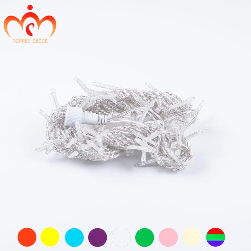 Hosszúság 32,8 ft 100 LED-ek csatlakoztatható string fény - Üdülési világítás