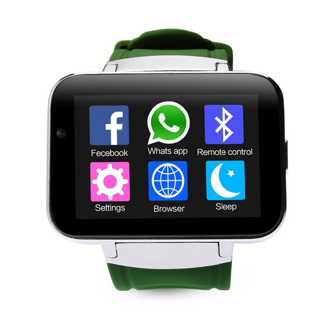 2.2 inch IPS DM98 Bluetooth Smart Watch Android Phone Smartwatch Relogios Watch 3G WCDMA 4GB Android Camera Playstore GPS WIFI
