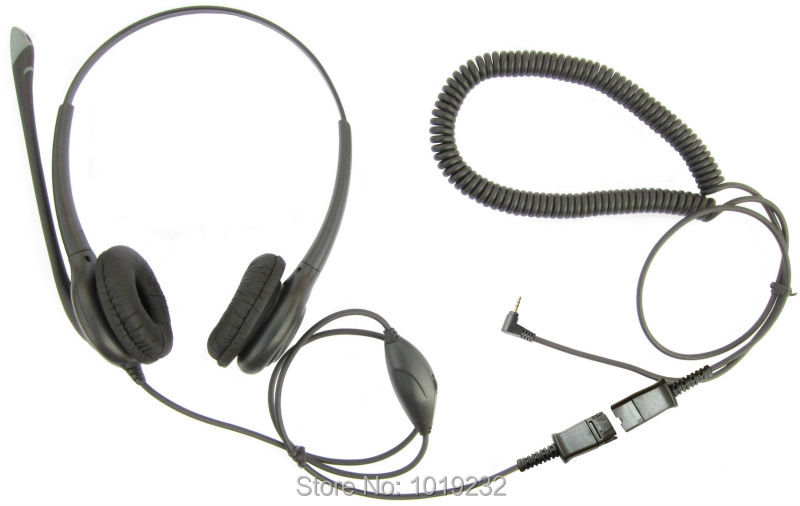 volume and mic mute 2 5mm plug contact center headset binaural Headset Jack Wiring 2 5mm plug is used to the telephone that has the socket