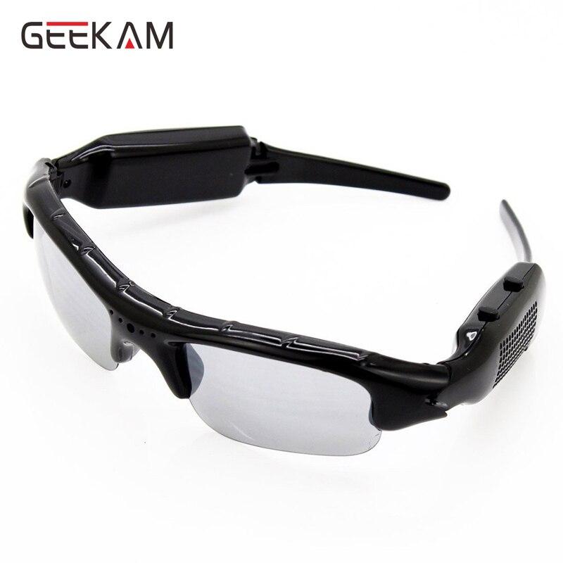 High Quality Digital Audio Video Mini Camera DVR Sunglasses Sport Camcorder Recorder Smart Glasses For Driving