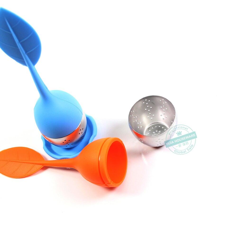 filtrar y colar para infusi/ón Colador de t/é de hojas sueltas Infusor de t/é el mejor infusor de t/é para t/é de hierbas que se usa en tazas de t/&eacut Soportes en tazas o tazas y malla de acero inoxidable para infundir