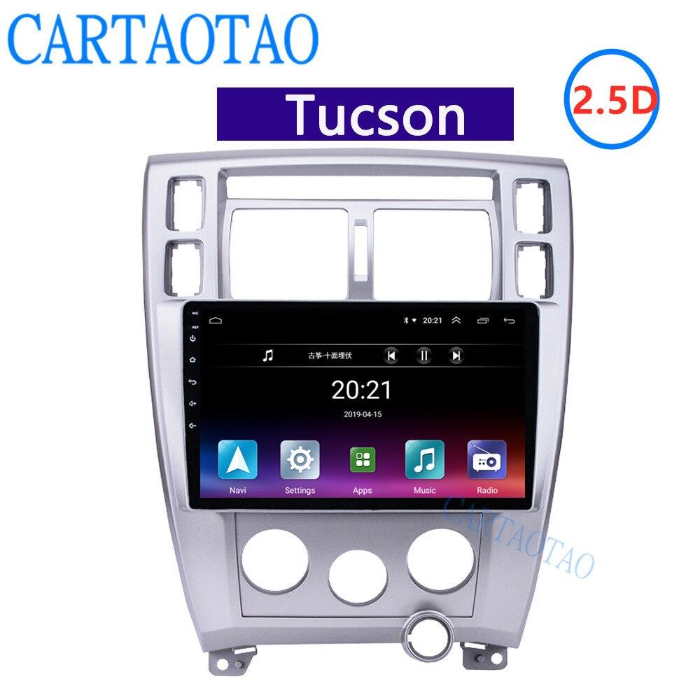 Auto Taotao 2din gps 2.5D HD 10 Android car radio, navigazione, bluetooth multimedia player stereo per Hyundai Tucson 2006-2013Auto Taotao 2din gps 2.5D HD 10 Android car radio, navigazione, bluetooth multimedia player stereo per Hyundai Tucson 2006-2013