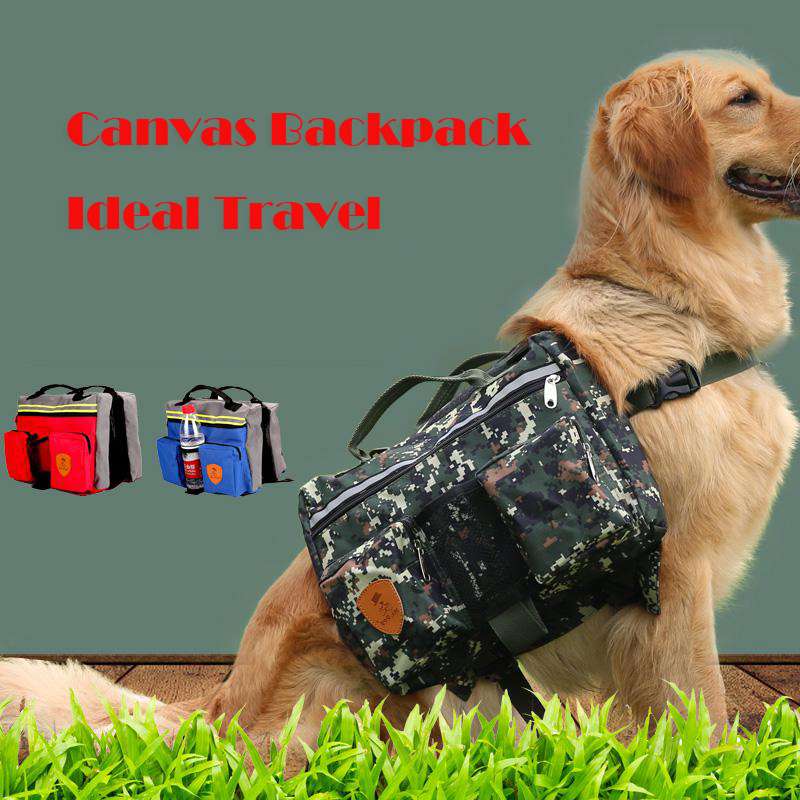Big Dog Bags Backpack For Puppies Pets Animals Travel Transport Dashchund Pitbull Golden Retriver Carrier Accessories Supplie