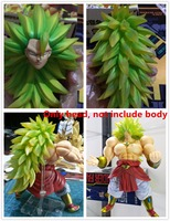 SMC VOL.3 Dragon Ball Super Saiyan 3 III Head (no body) for Bandai SHF Broly Models