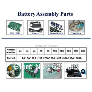 Image 5 - 12S 36V 15A lifepo4 pil BMS elektrikli bisiklet için kullanılan 36V 8Ah 10Ah 12Ah 15Ah LiFePO4 pil paketi ile denge fonksiyonu ile