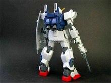 Figuras de anime japonés Gundam 1/144 HGUC-082 RLUE destino Unidad 3 robot figura de acción plástico kits de Juguetes