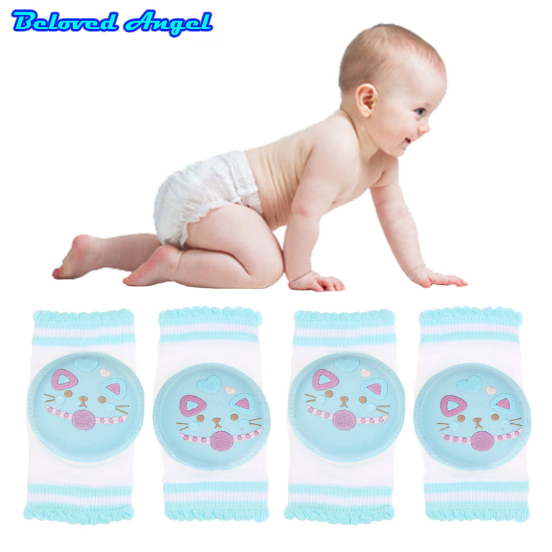 0-2T Babys Non-slip Baby Kneecap Children's Cotton KneePad Baby Crawling Knee Pads Terry Thick Mesh Breathable Harnesses Leashes
