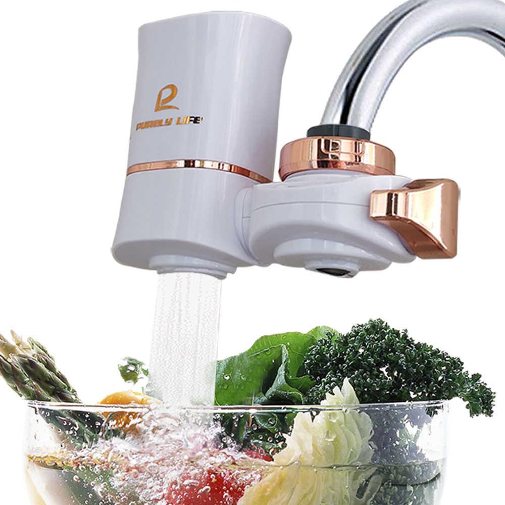 水道水浄水器キッチン蛇口洗えるセラミックパーコレーターミニ水フィルターフィルトロフィー錆細菌除去交換フィルター