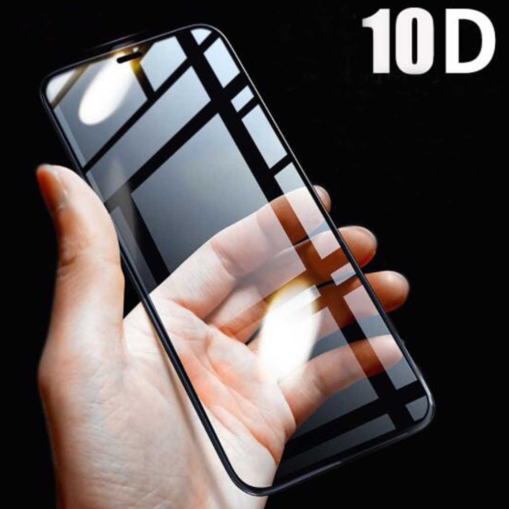10D Protective Glass On The For iPhone Xs Max 6s 7 8 6 Plus X Xr Xs aifon 7 aphone 7 iphoe Case for iphone 11 pro Tempered Film