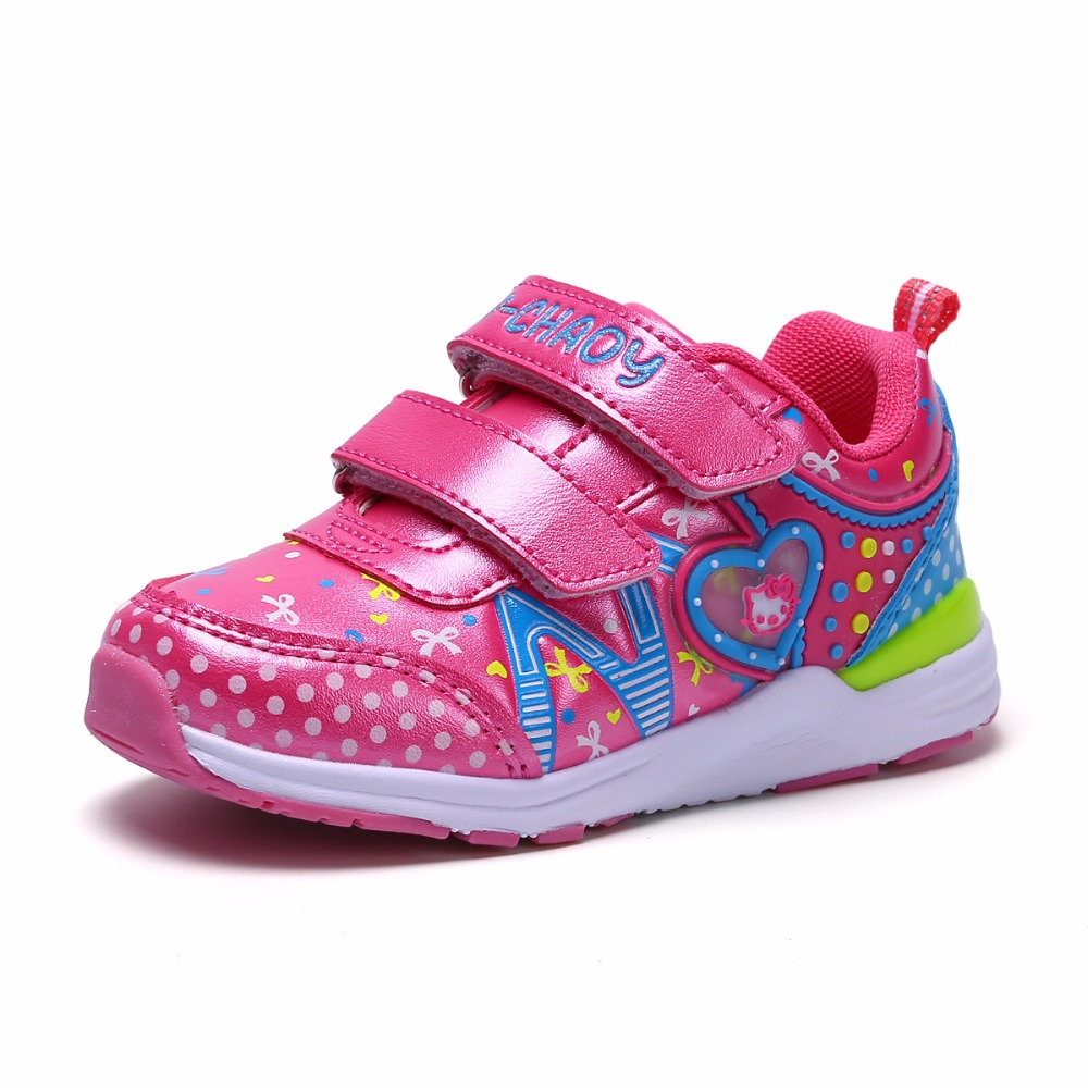 Kids Summer Shoes 2017 Mesh Sandals Glowing Sneakers For Children Hollow Out Net Breathable Casual Sport Trainers High Quality children glowing sneakers light soles shining led shoes kids trainers krossovky running child shoes backlight baby 50k102
