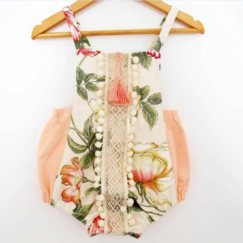 baby rompers christmas style baby boutique clothes newborn baby girls clothes vintage floral girls jumpsuit