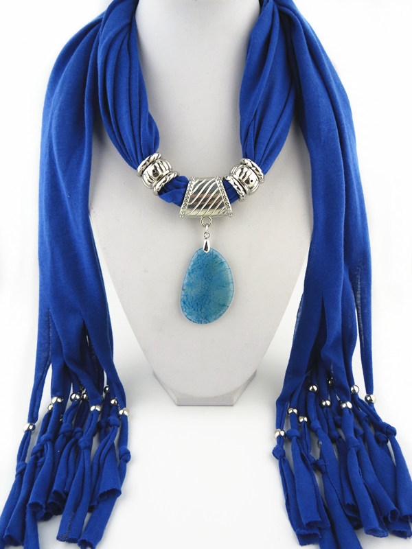 401de420b Hot style fashion Agate pendants scarves DIY Creative Design Pendant  tassels scarf for women 13 Colours-in Women's Scarves from Apparel  Accessories on ...