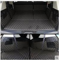 Car Travel Good Special Trunk Mats For Nissan Patrol Y62 7seats 2017 2011 Waterproof Boot