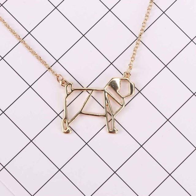 Dog Pendant Pug Necklace 2