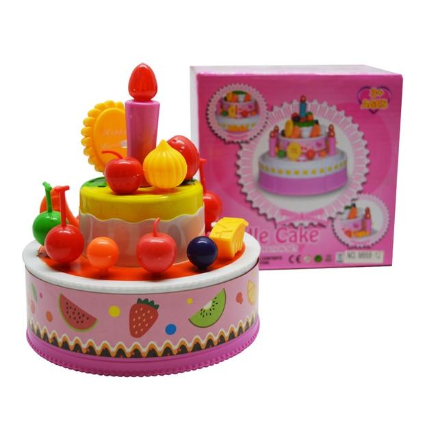 2016 New Classic Toys Pretend Play Kitchen Toys Birthday Cake