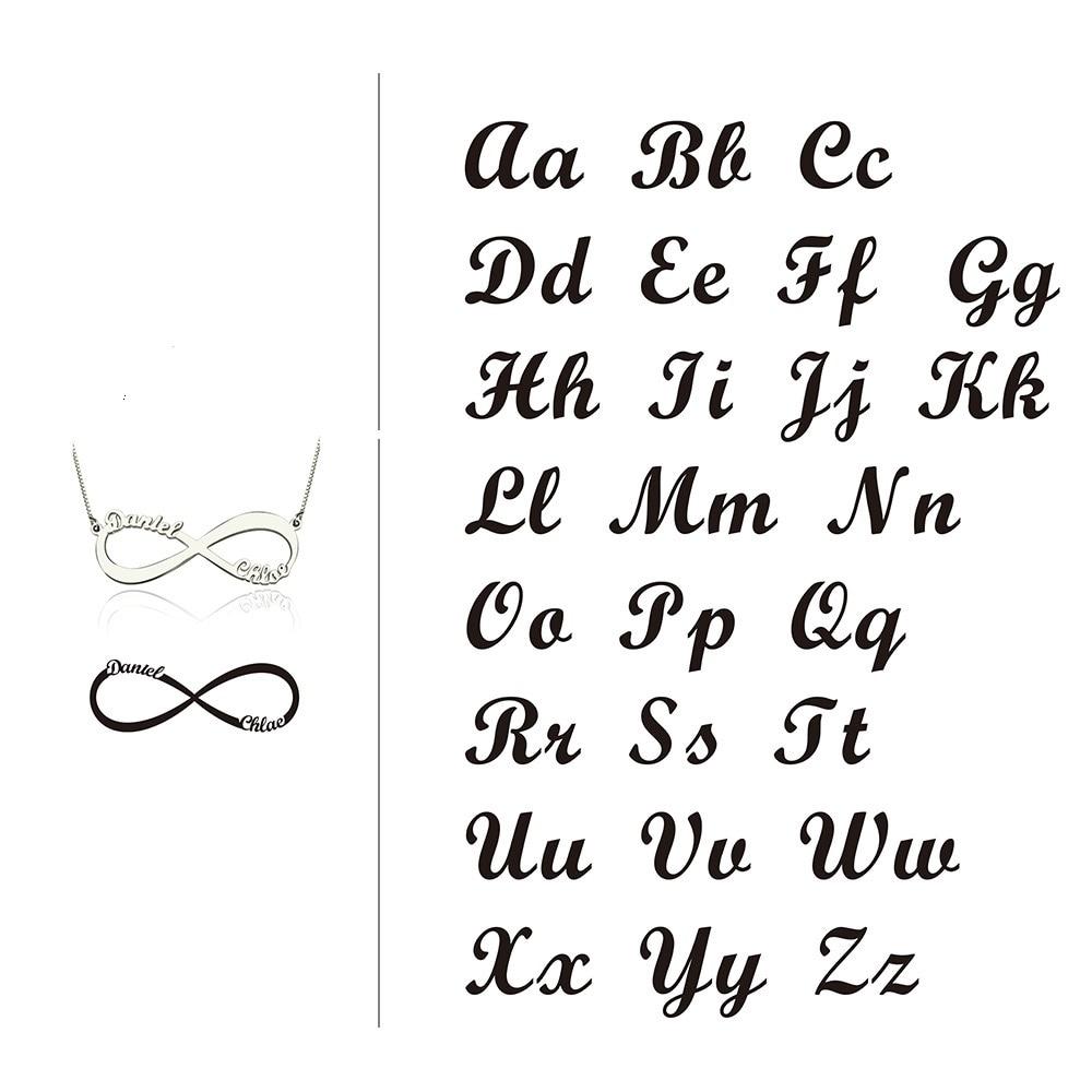 Personlig arabisk russisk navn halskæde sølv 925 vedhæng halskæde - Smykker - Foto 4