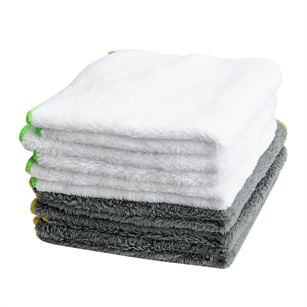 LEEPEE 37*37cm Car Wash Towel Cleaning Tool Ultra Soft Microfiber Cloth For Car Wax Polish Auto Care Detailing Car-styling