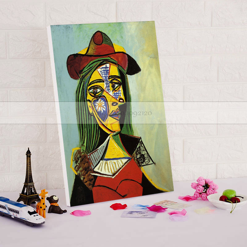 Famous Picasso Oil Painting 100 Handmade Wall Art Canvas Paint Home Decor Portrait Picasso drawing for