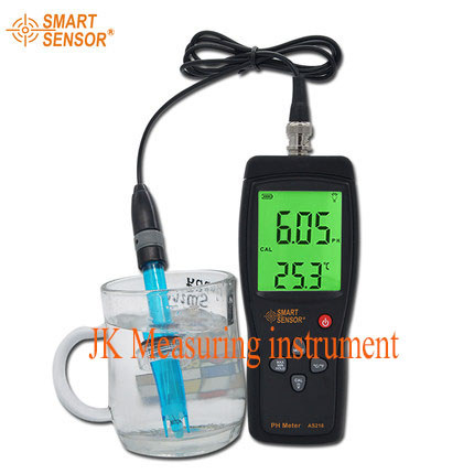 Smart Sensor AS218 digital PH tester the Soil ph Meter tester Moisture measuring instrument water PH acidity meter mc 7806 digital moisture analyzer price with pin type cotton paper building tobacco moisture meter